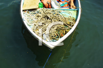 Royalty Free Photo of a Fishing Boat