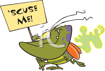 Royalty Free Clipart Image of a Stink Bug
