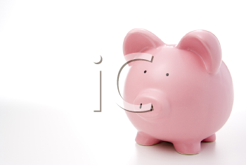 Royalty Free Photo of a Piggy Bank