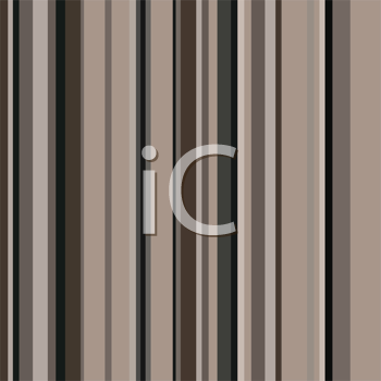 Royalty Free Clipart Image of Brown Stripes