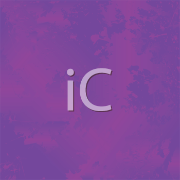 Royalty Free Clipart Image of a Violet Grunge Background