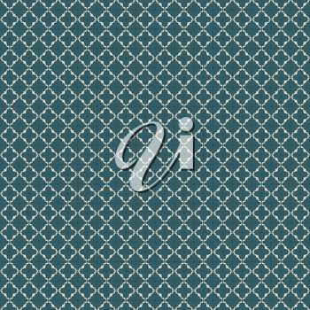 Repeating Art Nouveau pattern for design