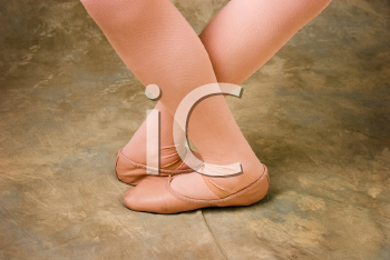 Royalty Free Photo of Ballet Slippers