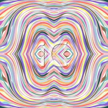 Royalty Free Clipart Image of an Abstract Tunnel
