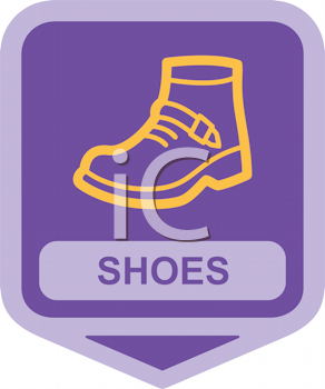Royalty Free Clipart Image of Shoes