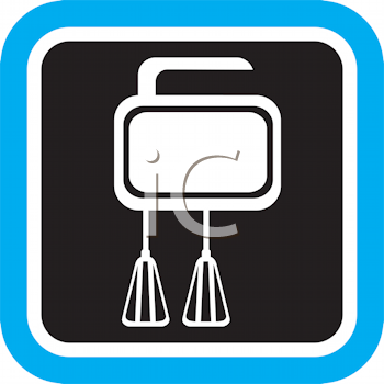 Royalty Free Clipart Image of a Mixer