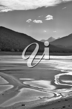 Royalty Free Photo of a Rocky Mountains