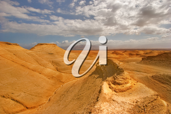 Royalty Free Photo of a Desert in Israel