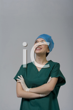 Royalty Free Photo of a Female Medical Professional