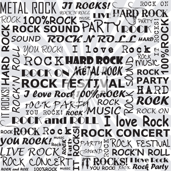 Rock and roll background
