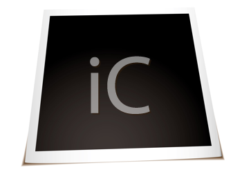 Royalty Free Clipart Image of an Instant Photo