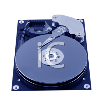 Royalty Free Photo of a Hard Disc Drive