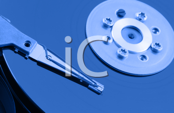Royalty Free Photo of a Hard Disk Drive