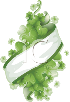 Royalty Free Clipart Image of a Saint Patrick's Element