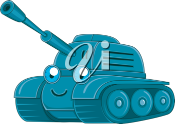 Illustration of a Military Tank