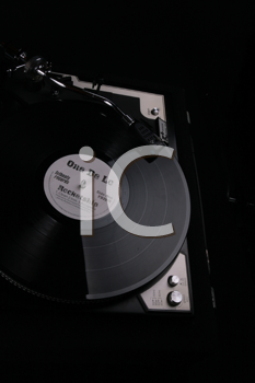 Royalty Free Photo of a Record Player