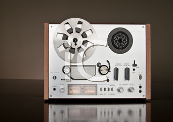 Royalty Free Photo of a Stereo Tape Deck