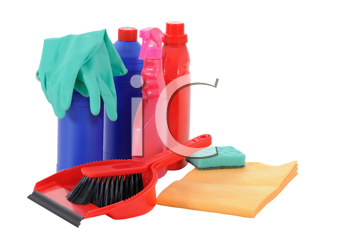 Royalty Free Photo of Cleaning Supplies