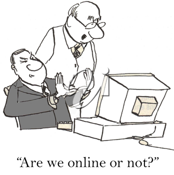 Are we online or not?