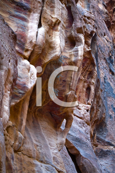 Royalty Free Photo of Fancy Shapes of Rocks