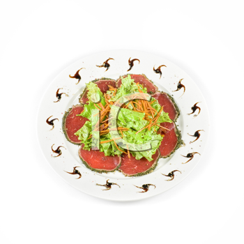 Royalty Free Photo of Sliced Beef