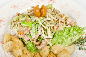 Royalty Free Photo of a Mixed Salad