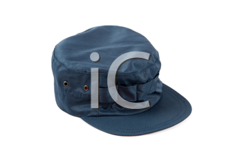 Royalty Free Photo of a Blue Hat