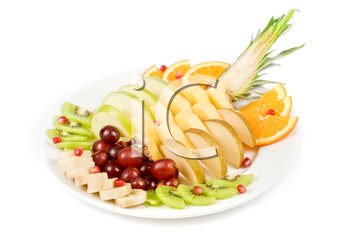 Royalty Free Photo of a Fruit Assortment