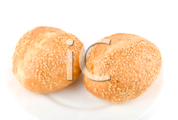 Royalty Free Photo of Sesame Seed Buns