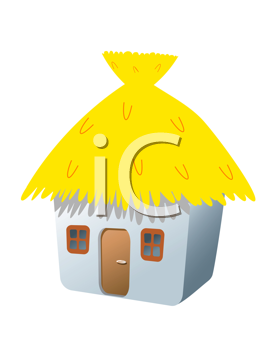 Royalty Free Clipart Image of a House Icon