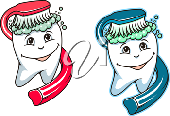 Toothbrush and dental paste for hygiene and healthcare design