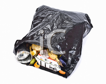 Royalty Free Photo of a Bag of Garbage