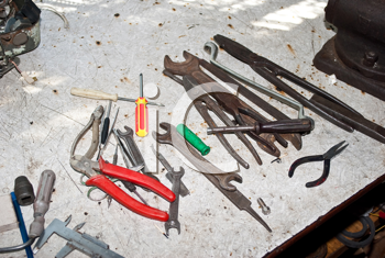 Royalty Free Photo of Tools