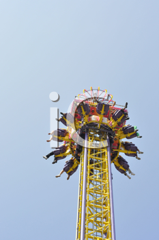 Royalty Free Photo of an Amusement Park Ride