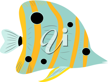 Abstract fish, EPS8 - vector graphics.