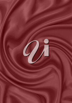 red silk material as a background