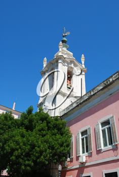 Royalty Free Photo of the Church of Necessities Palace in Lisbon, Portugal