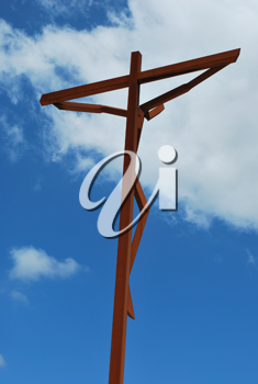 Royalty Free Photo of a Crucifixion of Jesus