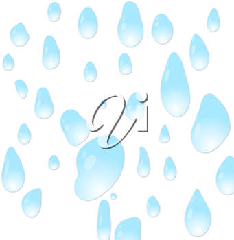 Vector water drops background for design use