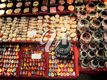 Royalty Free Photo of a Variety of Jewelery