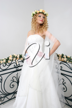 Royalty Free Photo of a Bride