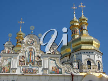 Royalty Free Photo of Kiev - Pechersk Lavra in Ukraine