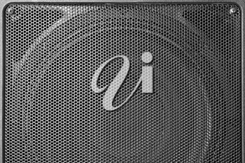 Royalty Free Photo of a Black Iron Grill