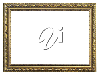 Royalty Free Photo of a Golden Frame