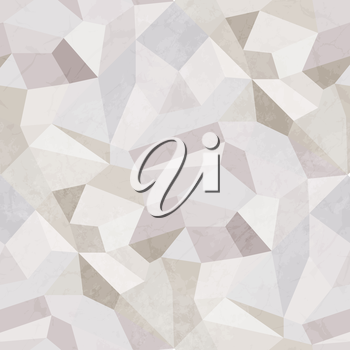 Crystal Design Modern Geometric Abstract Background