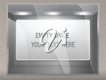 Royalty Free Clipart Image of an Ad