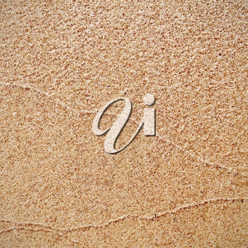 Pattern of the sand surface