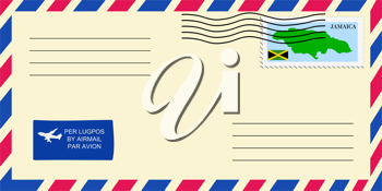 letter to/from Jamaica