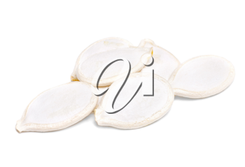 Royalty Free Photo of Pumpkin Seeds in a Pile