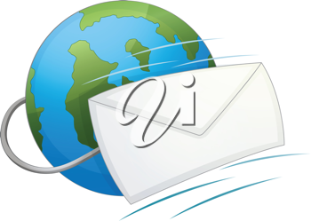Illustration of an email icon